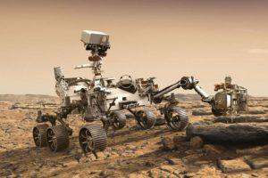 Rover Mars robot